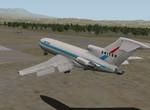 727-100 přistání na SPQU