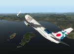 Po vzletu z Nice (LFMN)