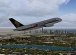 A380 vzlet z OMDB