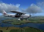 Cessna u Slezské Harty