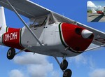 Martinská C-172  za letu plus originál