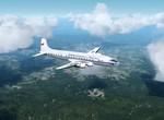 DC-6 na cestě do Říma