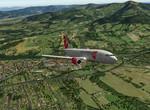 Po vzletu z Frýdlantu nad Ostravicí