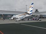 Odbavení letu na Korfu v Praze