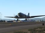 DC-3 po vzlete