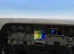 Cessna 310 nad Puerte Rico, FSE ferry flight