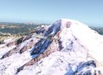 Cessna nad Mount Baker