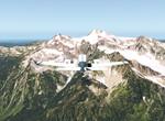 Mount Olympus 2432 m TE US WA