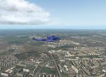 Bell412 nad Prahou