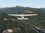 Cessna_172SP - nad rekou Sauk