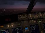 B738F - na přistání v Luandě