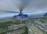 Bell 412, přiblížení ECHO 2 na H1