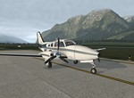 Beechcraft Baron - Innsbruck