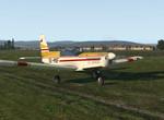 Rolujem ku hangáru Aeroklubu Trenčín