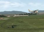 Finále dráhy 21R v Trenčíne