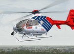 Nikola ve službách HeliAir. Mod pro ND EC 135