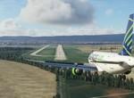 Seagle Air landing RWY 31_LZIB