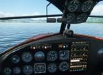 Grumman po pristátí na Liptovskej Mare