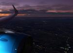 Podvečerní přílet do Prahy