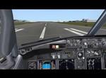 KLAX final with PMDG 737