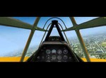 Cockpit video of A2A T-6 Texan