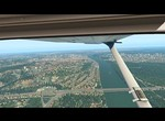 X-Plane 11 - Flight Over The Bratislava (FullHD)