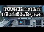 FSX A320 Praha-Ostrava s řízením letového provozu