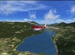 P3D /Cessna C172 / Alpnach (LSMA) / Interlaken (LSMI) / Švýcarsko