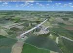 FSX / Aerovlek,větroň-DG202 / vlečná-Z142 / Kunovice (LKKU)