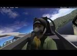 L 159 in X Plane - Low level Test flight