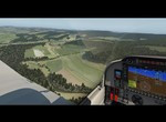 XPLANE 11 - Robin DR401 - Czech Landscape Machov, Hronovs